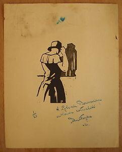 Wood-Engraved-Signed-Paul-Pol-Ferjac-amp-Autographed-Sylvain-Bonmariage-Num-1-20