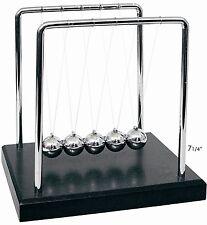 NEW Newtons Cradle Balance Balls 7 1/4 inch, Desktop Gift Office Home Decoration