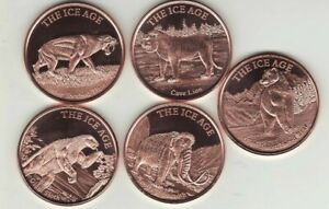 MOOSE  1 oz Copper Round Coin  ANIMAL SERIES    New for 2019