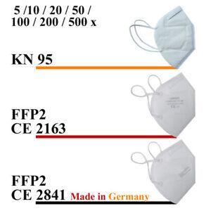 FFP2 KN95 N95 Zertifiziert Atemschutzmaske Mundschutz Schutzmaske