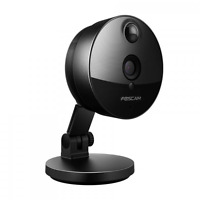 Foscam C1 720p Mini Wireless Cube Wide Viewing Angle Ip Camera - Black