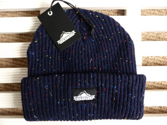 4c02a12ea12 PENFIELD USA Chunky NAVY Beanie Hat - Super Comfy   Warm - One Size - Toque