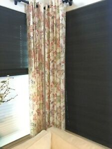 Details About Pair Of Custom High End Window Treatment Panels With Grommet Tops 50x100