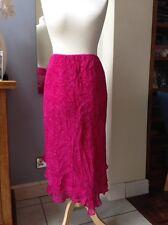 Exello Chiffon Cerise Pink Skirt UK 18