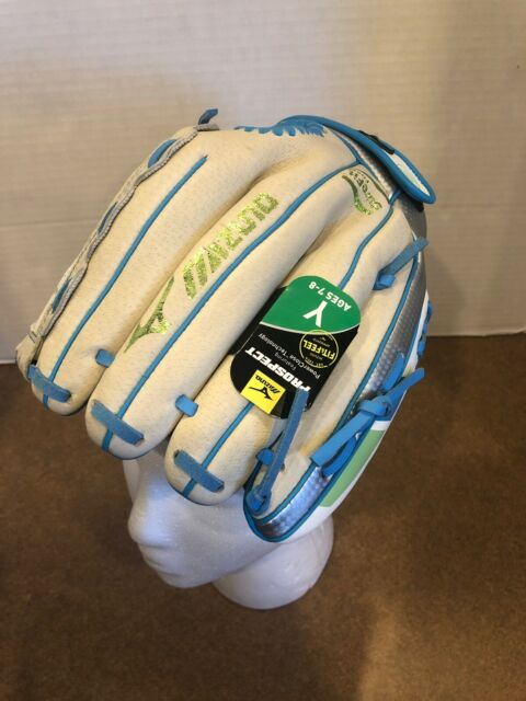 "Mizuno Finch 11.5/"" Fastpitch Softball Glove Mitt GPP 1155F2AC Right Handed Youth"