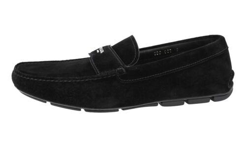 2dd007 41 Prada Luxueux 41 7 Chaussures 5 Nouveaux Noir 0Ezw4Uq