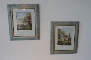 Das Bild Wird Geladen Gilde Handwerk Bilder 2er Set Bild Kunstdruck Holz