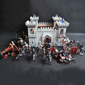Playset-Toy-Medieval-Castle-Decor-Retro-Knights-Game-Soldiers-High-Quality