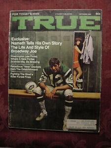TRUE-September-1969-BROADWAY-JOE-NAMATH-PROJECT-TEKTITE-VIETNAM