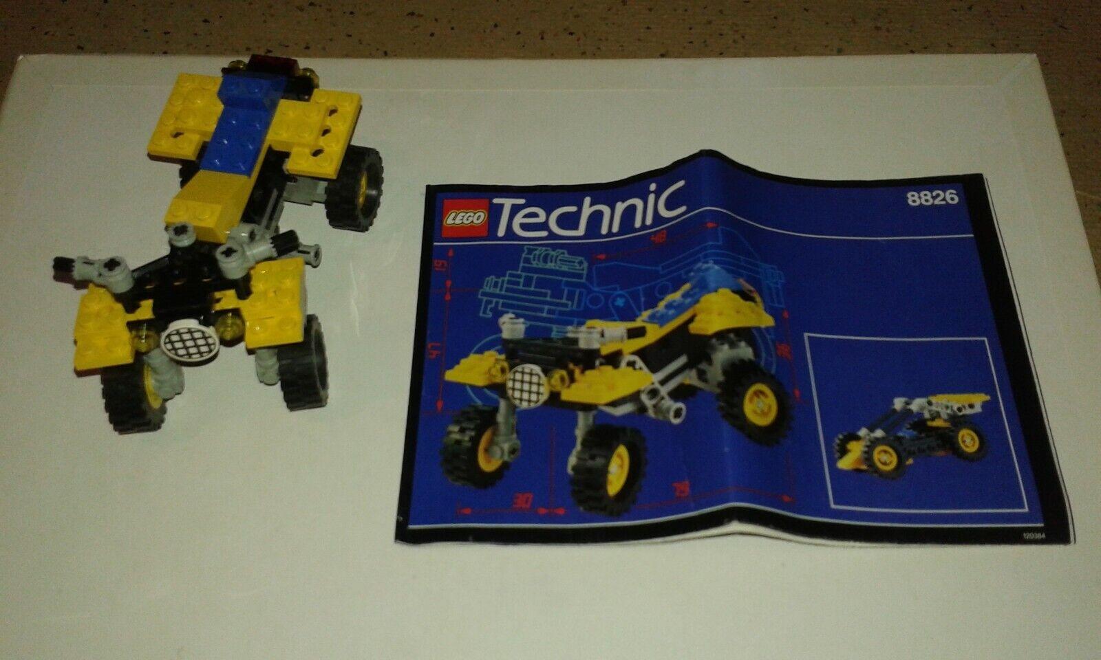 Technic Début 3 8825 8826 De Lego Quasi Et Lot 908820 rBQdeWxoC