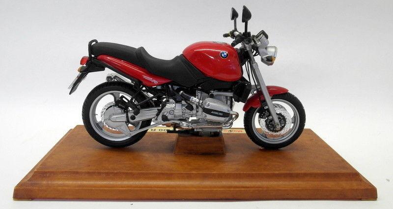 Maisto 1 10 Scale diecast - 31601 BMW R1100R rojo Motorbike