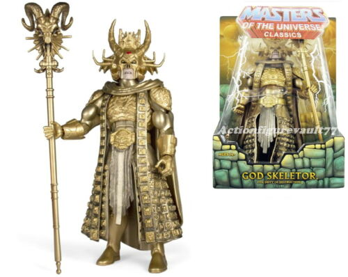Masters univers Super 7 William Stout Masters of the Universe Classics Movie Hyper Dieu squelettor