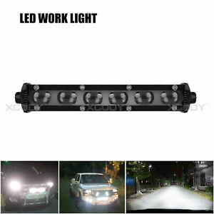 7inch-60W-Spot-Beam-Slim-LED-Work-Light-Bar-Single-Row-Car-SUV-Off-road-Lamps