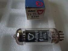 EZ80 MULLARD NEW OLD STOCK TUBE VALVES 1 pc  J17A