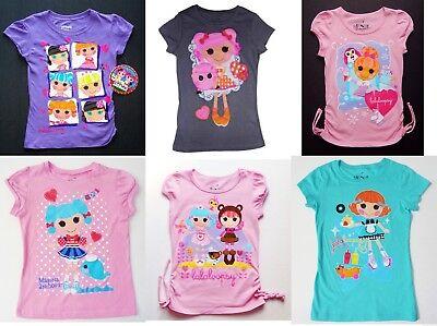 5 6 or 6X $18 LALALOOPSY MGA Fashion Cotton Tops Tees T-Shirt NEW Girls Size 4