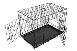 Foxhunter Pet Cage Fort M 233 Tal Travel Crate Pour Chien