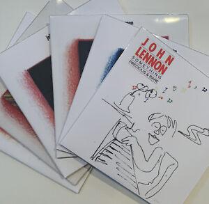 John-Lennon-seis-6-CD-suplentes-rarezas-demostraciones-Coleccion-inedito