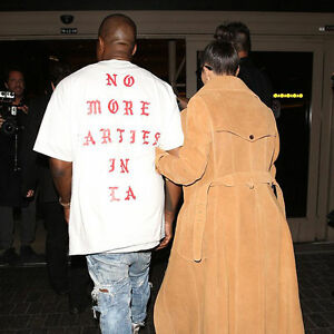 15042172a88dc No More Parties In LA T-Shirt Kanye West Yeezy Life of Pablo Size S ...