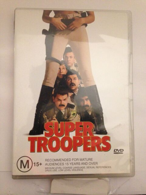 SUPER TROOPERS (R4-PAL-LIKE NEW) - DVD #1110