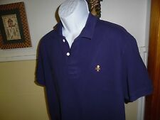 """Rugby Ralph Lauren """"RARE"""" Skull Crossbones Polo Size XL Purple RL Supreme Rugby"""