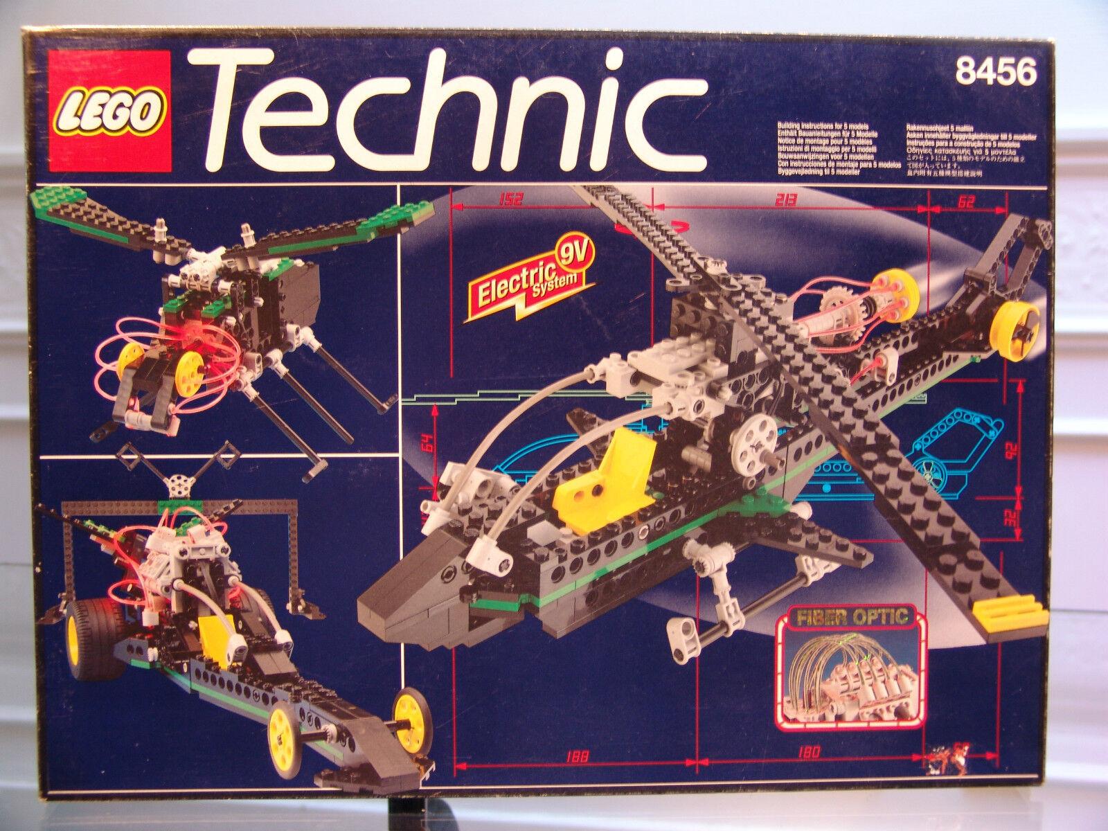 1996 Lego Technic 8456 Fibra Óptica Multi Conjunto Menta en Caja Sellada Nuevo