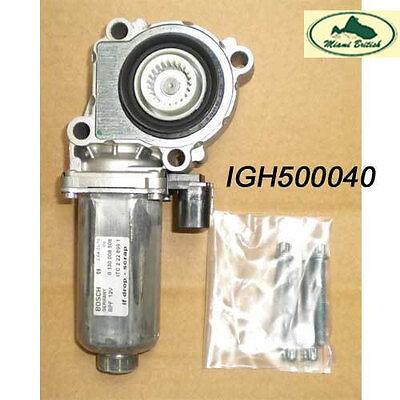 LAND ROVER TRANSFER BOX MOTOR RANGE LR3 LR4 RANGE SPORT IGH500040 BOSCH