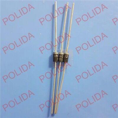 100 x 1N4002 Gleichrichter-Diode   100V  1,0A DO41
