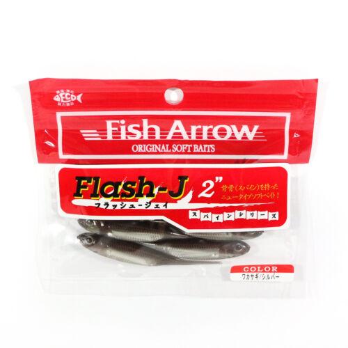 0447 Fish Arrow Soft Köder Flash J 2 Zoll 8 Stück per pack #07