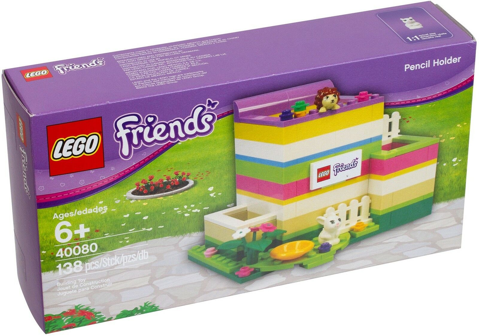 LEGO® Friends 40080  Stiftehalter NEU OVP_ Pencil Holder NEW MISB NRFB