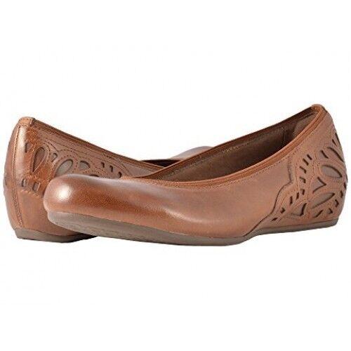 Cobb Hill Women's Sharleen Pump Almond Leather Shoe US 7.5 Medium