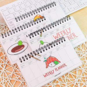 Am-KQ-Cute-Useful-Cartoon-Weekly-Day-Plan-Time-Organizer-Notebook-Spiral-Cand