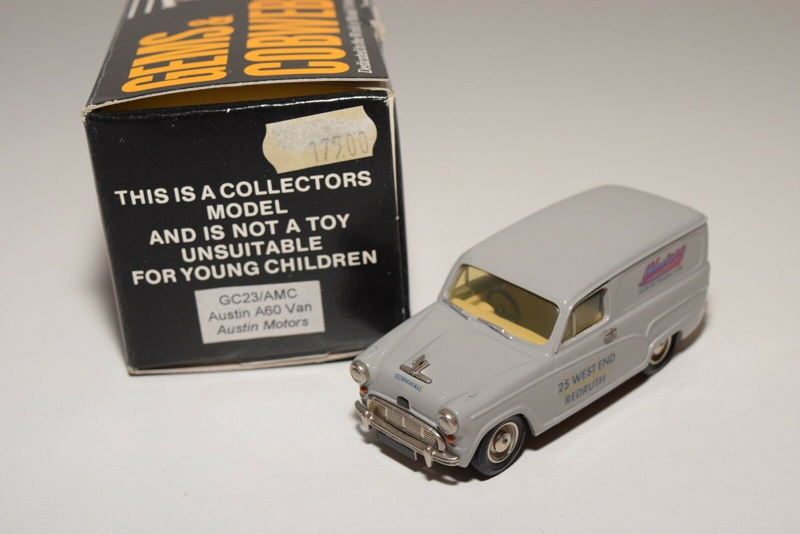* GEMS & COBWEBS GC23AMC GC23 AMC AUSTIN A60 VAN AUSTIN MOTORS MINT BOXED