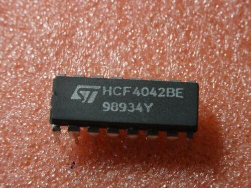 Lot au choix 1 5 pieces Prix degressif CMOS CD4042 boitier DIL16 2