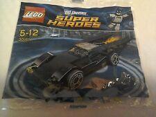 Batmobile de lego Batman Super Heroes 30161 Mini Set Raro Sellado De Fábrica