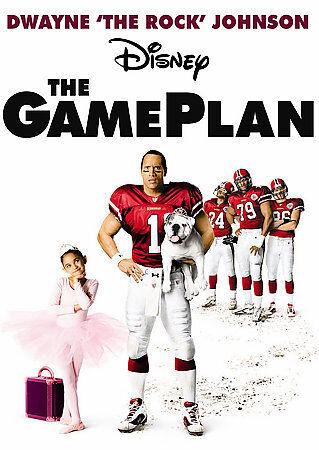 El plan de juego, 2008 DVD, película de Disney Dwayne Johnson La Roca