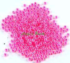 3.0 mm Ceylon Hot Pink Toho Japanese Seed Beads 10g Size 8//0