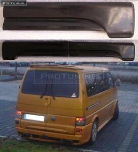 vw t4 transporter two doors rear door spoiler addon lip. Black Bedroom Furniture Sets. Home Design Ideas