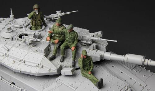 Meng Model HS-002 1//35 IDF TANK CREW
