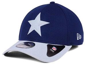 4f504dde8db0c NFL Dallas Cowboys Men s Navy New Era Logo Surge Fitted Hat