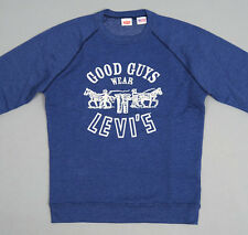 LEVI'S VINTAGE CLOTHING 1970's SWEATSHIRT - LEVIS ORANGE TAB - NWT - S SMALL