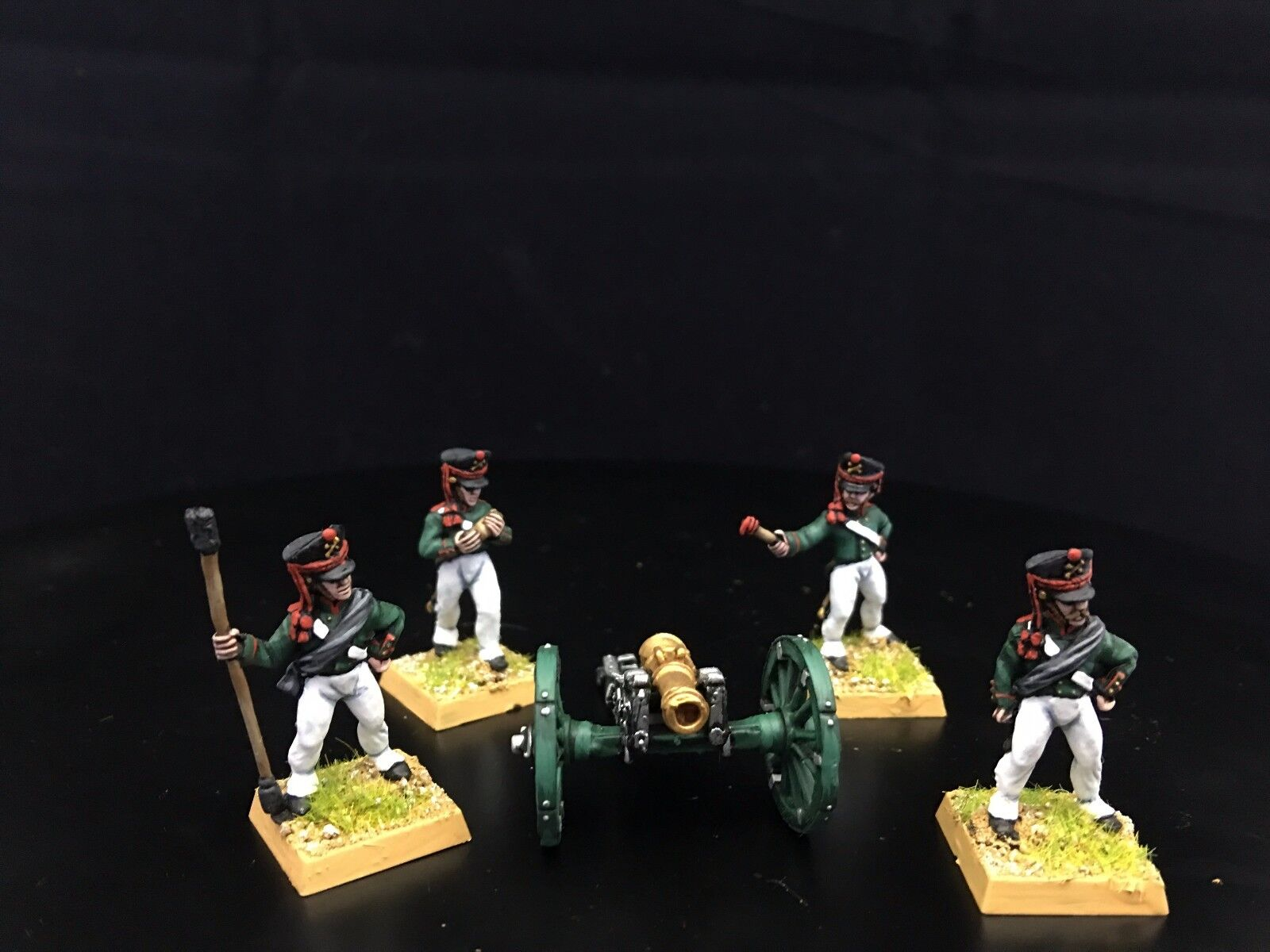 Napoleonic Wars DPS painted Russian Artillery with 10lb Unicorn Howitzer GH1093