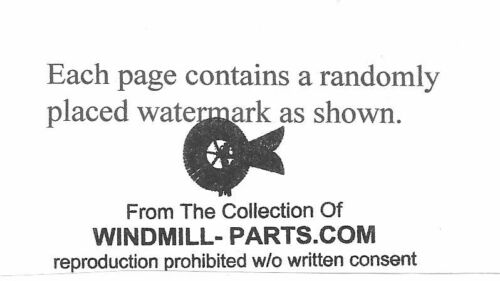 Hand Pump Windmill Pump Well Cylinder Install Guide How to Pump Water
