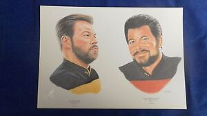 STAR-TREK-LIMITED-EDITION-PRINT-TWO-RIKERS