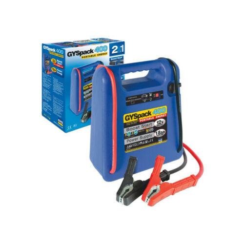 Booster Starter, Power Supply 12v Gyspack 400 Auto 480a/1250a 0254455