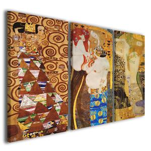Quadri moderni Gustav Klimt IV stampe su tela canvas quadri famosi ...