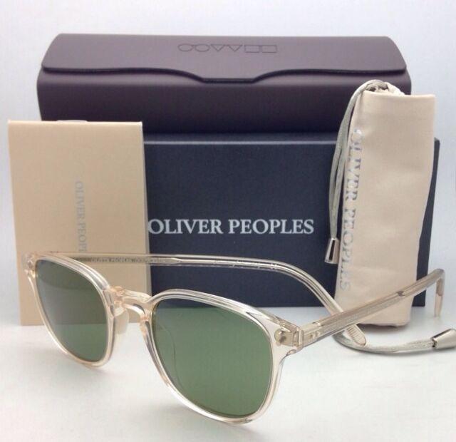 cc4dd9f417c New OLIVER PEOPLES Sunglasses FAIRMONT SUN OV 5219-S 1094 52 Buff Frame w