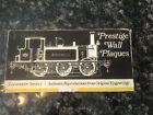 Prestige Wall Plaques-locomotive Series 1 Frank Down Ltd. England Pre-owned
