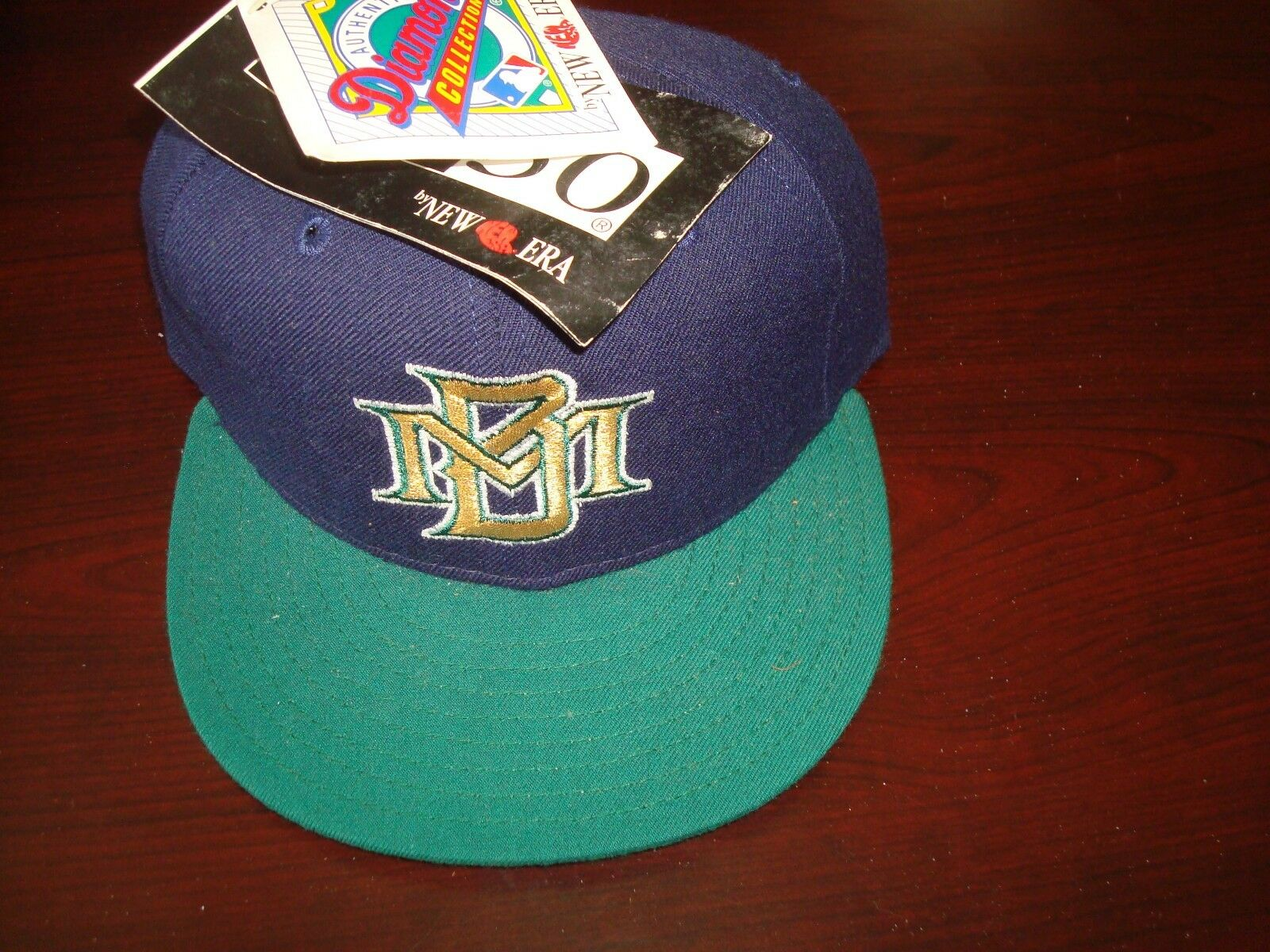 free shipping fdfd0 d3075 ... authentic alternate performance 59fifty on field cap 32e2f dc18d  where  can i buy milwaukee brewers mlb fitted new era diamond fitted mlb sz 6 3