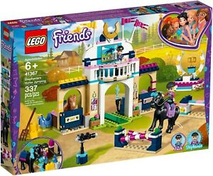 Lego Friends 41367 - La Course De Équitation Stephanie Neuf