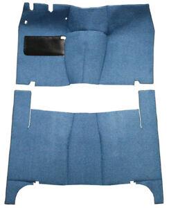 1955-1956 Ford Fairlane 2 Door Hardtop Complete Replacement Loop Carpet Kit